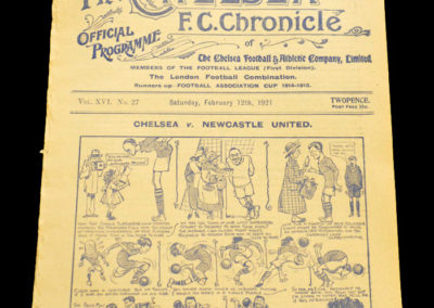 Chelsea v Newcastle 12.02.1921