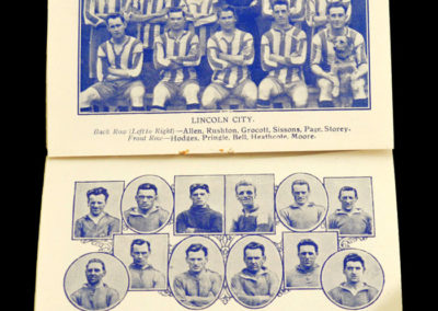 1924/1925 Season Triumph Team Photo Albums
