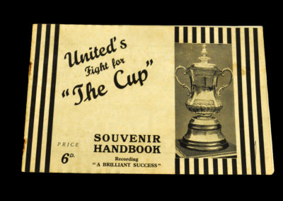Newcastle FA Cup 23.04.1932 Cup Souvenir Handbook