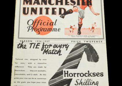 Man Utd v Arsenal 03.10.1936