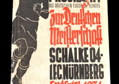 Schalke v Nurnberg 24.06.1934