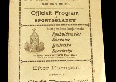 Stockholm v Copenhagen 04.05.1917