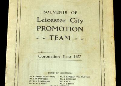 Leicester v Spurs 01.05.1937