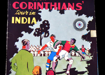 Islington Corinthians India Tour Brochure - November 1937 and some teams did play in bare feet
