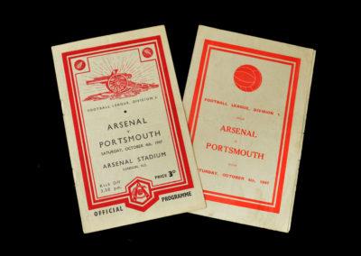 Arsenal v Portsmouth 04.10.1947
