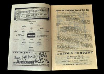 Arsenal v Sunderland 20.12.1947