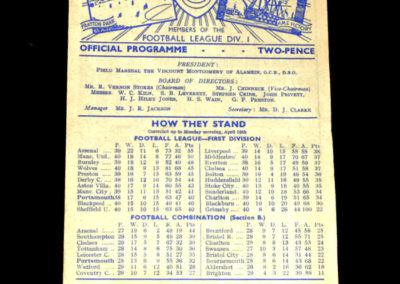 Arsenal v Portsmouth 21.04.1948