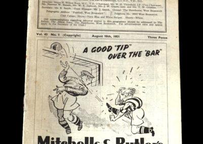 Man Utd v West Brom 18.08.1951