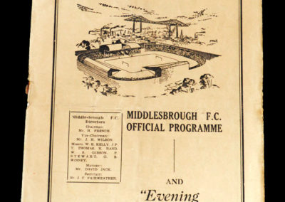 Man Utd v Middlesbrough 29.08.1951