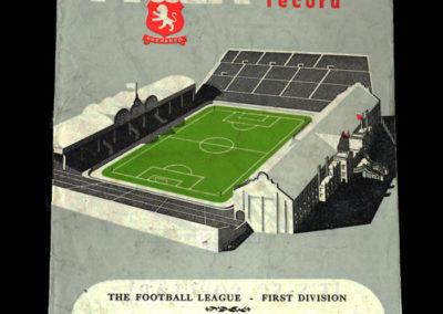 Man Utd v Aston Villa 13.10.1951