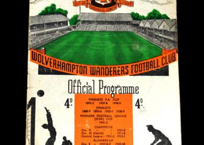 Man Utd v Wolves 27.10.1951