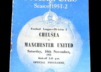 Man Utd v Chelsea 10.11.1951