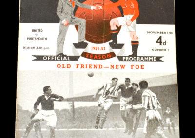 Man Utd v Portsmouth 17.11.1951