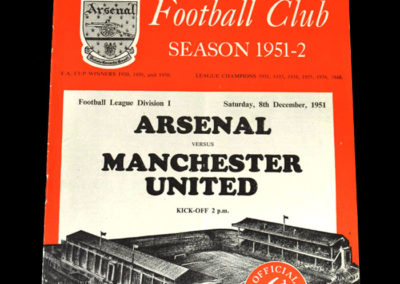 Man Utd v Arsenal 08.12.1951