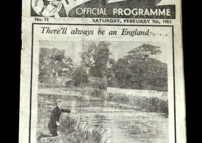 Man Utd v Preston 09.02.1952