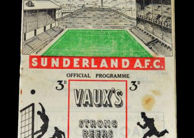 Man Utd v Sunderland 08.03.1952