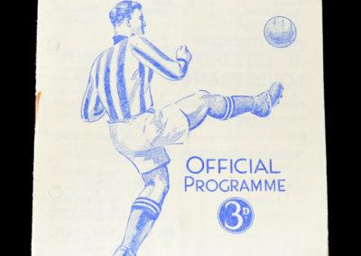 Man Utd v Huddersfield 22.03.1952