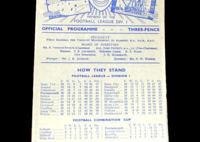 Man Utd v Portsmouth 05.04.1952