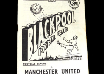Man Utd v Blackpool 19.04.1952