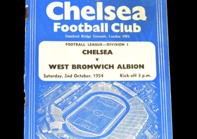 Chelsea v West Brom 02.10.1954
