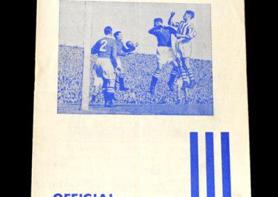 Chelsea v Huddersfield 09.10.1954