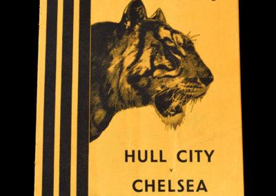 Chelsea v Hull 11.10.1954