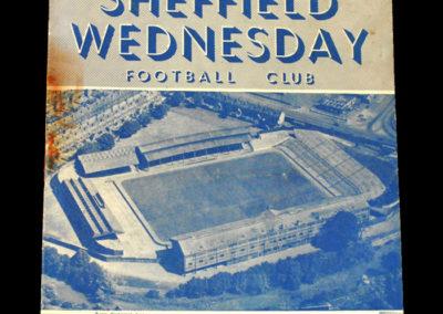Chelsea v Sheff Wed 20.11.1954