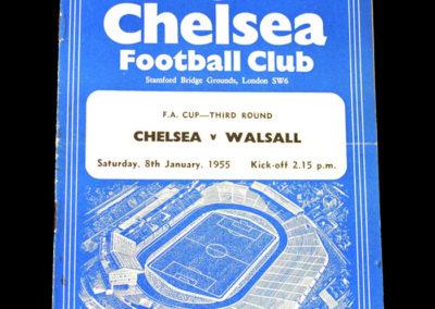 Chelsea v Walsall 08.01.1955