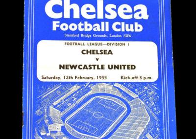 Chelsea v Newcastle 12.02.1955