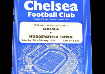Chelsea v Huddersfield 26.02.1955