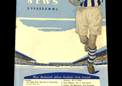 Chelsea v West Brom 09.03.1955