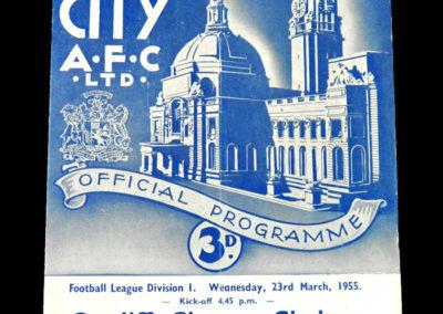 Chelsea v Cardiff 23.03.1955