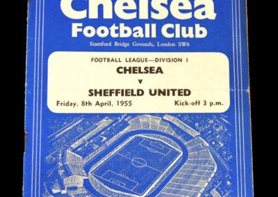 Chelsea v Sheff Utd 08.04.1955