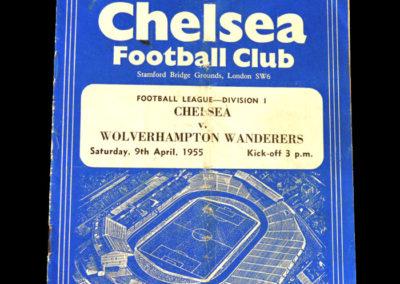 Chelsea v Wolves 09.04.1955