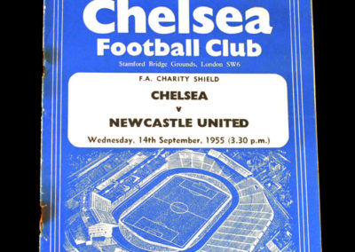 Chelsea v Newcastle 14.09.1955 - Charity Shield