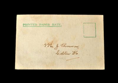 Scotland v England 28.03.1931 John Thomson Selection Card