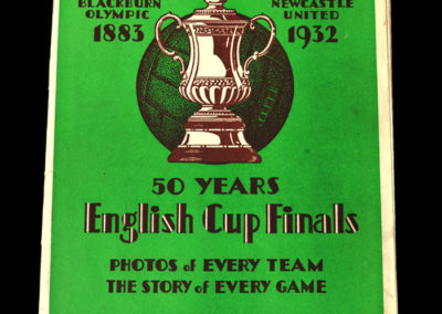50 Years of English Cup Finals