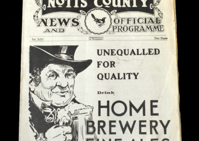 Notts Co v Fulham 02.09.1933