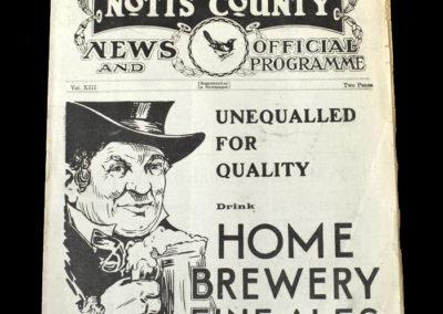 Notts Co v Fulham 02.09.1933