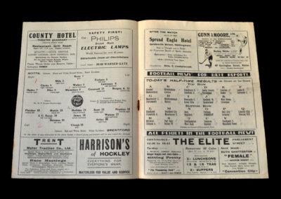 Notts Co v Brentford 07.04.1934 (Hadin Testimonial)
