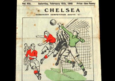 Charlton v Chelsea 10.02.1940