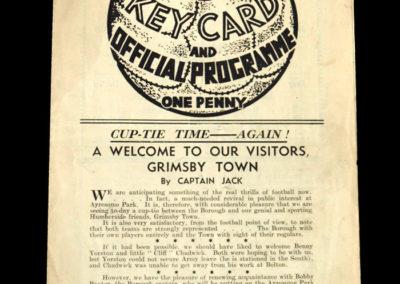 Middlesbro v Grimsby 20.04.1940