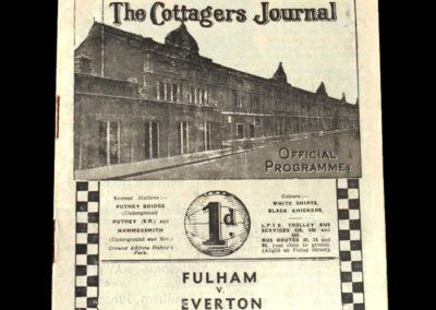 Fulham v Everton 25.05.1940