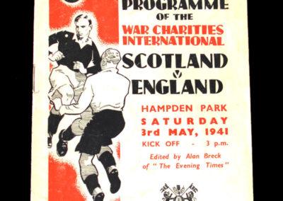 Scotland v England 03.05.1941