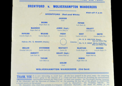 Brentford v Wolves 06.06.1942