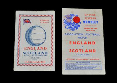 England v Scotland 10.10.1942 0-0