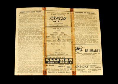 Scotland v England 17.04.1943