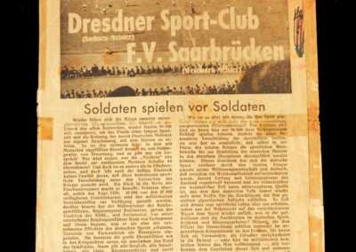 Dresdner v Saarbrucken 27.06.1943 - German War Cup Final