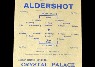 Reading v Aldershot 25.12.1943