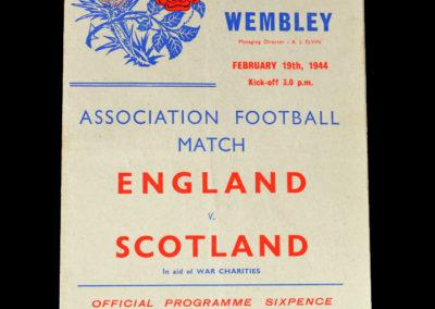 England v Scotland 19.02.1944 6-2